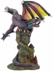 % Dragon on Castle