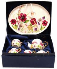 % Miniature 'Annabelle' Tea Set