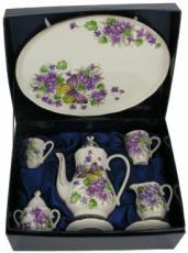 % Miniature 'Butterfly' Tea Set