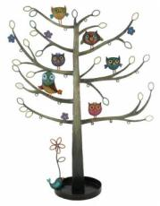 % Owl Jewellery Tree x2