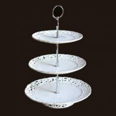 % Provence Three-Tiered Cake Stand