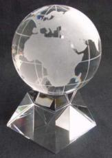 100mm Crystal Globe