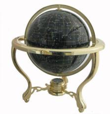 220mm Night Sky Tripod Stand Gemstone Globe