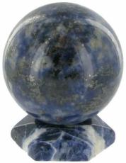 30mm Sodalite Sphere and Stand