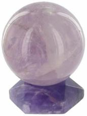 50mm Amethyst Sphere and Stand