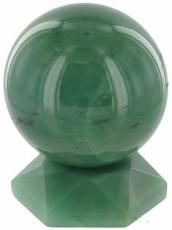 50mm Green Aventurine Sphere and Stand