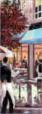 5th Avenue Cafe Ceramic Picture Tile by Brent Heighton 6