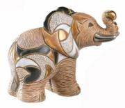 African Elephant, Families Collection Figurine by De Rosa