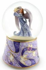 Angel with Dove Snowglobe (Tune: Wind Beneath My Wings)