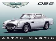Aston Martin DB5, Metal Sign