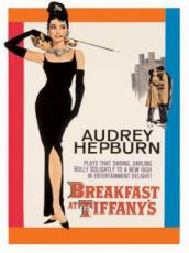 Audrey Hepburn, Breakfast At Tiffany's, Metal Sign