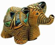 Baby Elephant Rincababy Figurine by De Rosa