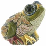 Baby Forest Frog, Families Collection Figurine by De Rosa