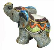 Baby Indian Elephant, Families Collection Figurine by De Rosa