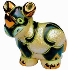 Baby Rhino Rincababy Figurine by De Rosa