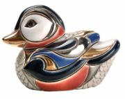 Baby Wild Duck, Families Collection Figurine by De Rosa