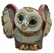 Barn Owl, Families Collection Figurine by De Rosa