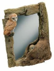 Barn Owl Mirror