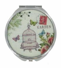 Bird Cage Compact Mirror