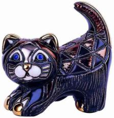 Black Kitten Rincababy Figurine by De Rosa