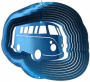 Blue Campervan Stainless Steel Wind Spinner