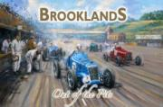 Brooklands, Metal Sign