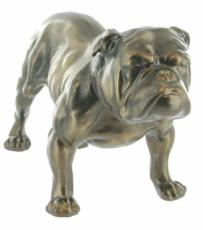Bulldog, Cold Cast Bronze Sculpture by Beauchamp Bronze