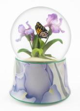 Butterfly & Iris Snowglobe (Tune: