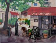 Cafe Lorraine Decorative Ceramic Picture Tile By James Wiens 11