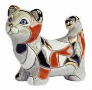 Calico Cat, Anniversary Figurine by De Rosa