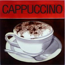 Cappuccino Ceramic Picture Tile by Kandy 12