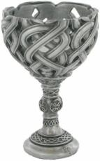 Celtic Conquest Goblet in Cold Cast Pewter