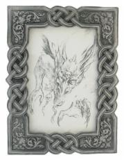 Celtic Photo Frame 4x6 in Cold Cast Pewter