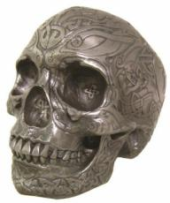 Celtic Skull in Gun Metal Finish by Design Clinic