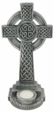 Celtic Wall Hanging Cross in Cold Cast Pewter