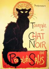 Chat Noir, Metal Sign