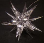Clear Crystal Morovian Star