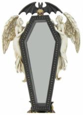 Coffin Wall Mirror by Alchemy