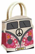 Dolly Daydream Camper Van Jute Bag