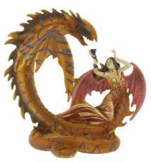 Dragon and Angel by Alchemy