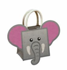 Elephant Jute Bag