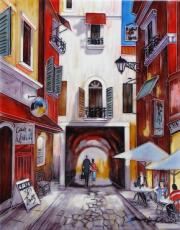 European Holiday Ceramic Picture Tile by Brent Heighton 11