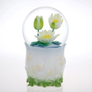Fancy Water Lily Waterglobe