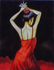 Flamenco 1 Ceramic Picture Tile by Patrick McGannon 11