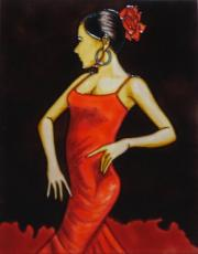 Flamenco 2 Ceramic Picture Tile by Patrick McGannon 11