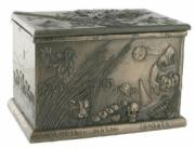 Four Seasons Box in Bronze by Tina Tarrant