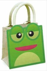 Frog Jute Bag