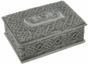 Gallic Hercules Box in Cold Cast Pewter
