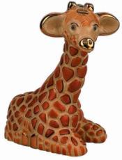 Giraffe Rincababy Figurine by De Rosa