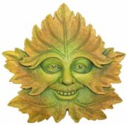 Green Forest Garden Wall Plaque, The Greenwood Tree